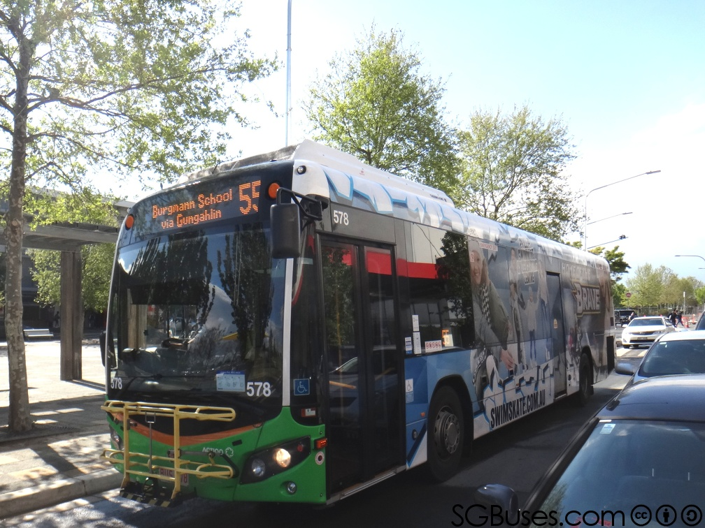 BUS578-55 | ACTION Buses Route 55 | SGBuses com