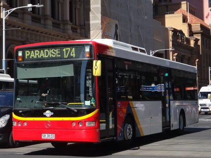 Bus Route Adelaide Metro Route 174 Sgbuses Com