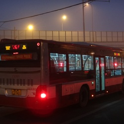 Beijing Bus, China 北京公交