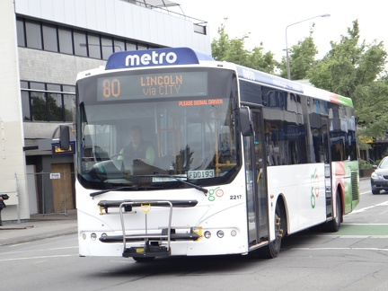 Bus Route: Christchurch Metro Route 80 | SGBuses com