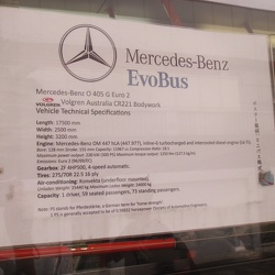 Mercedes-Benz O405G Bendy Tour