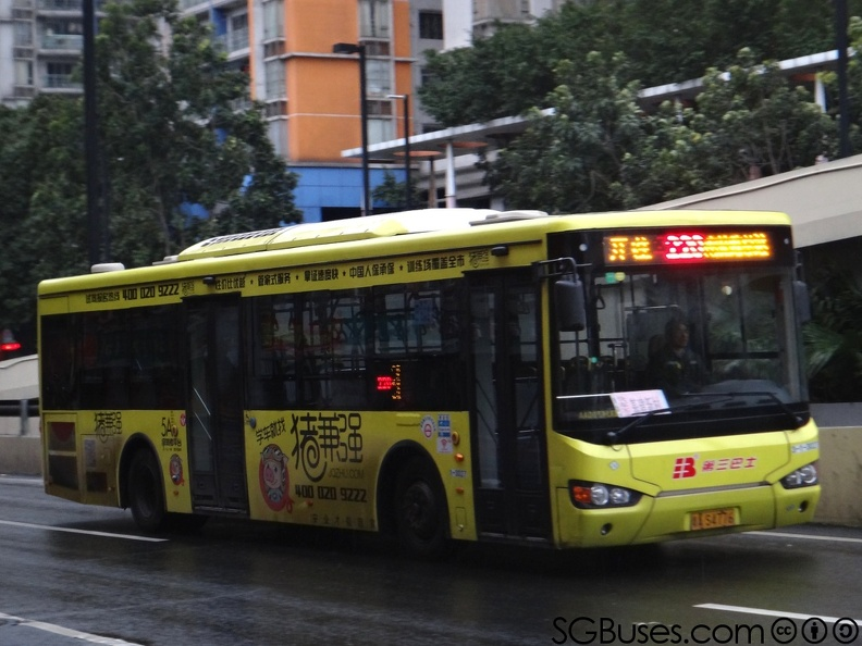 As4776 220 Guangzhou Bus Route 220 广州巴士220路线 Sgbuses Com