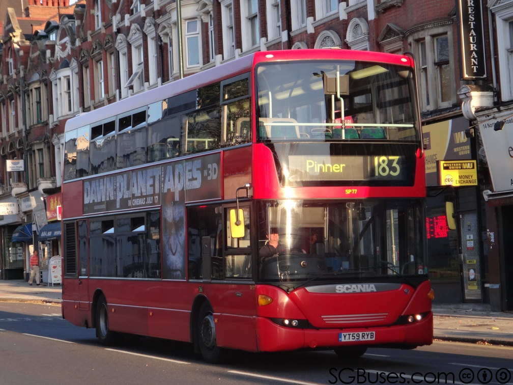 YT59RYB-183 | London Buses Route 183 | SGBuses com