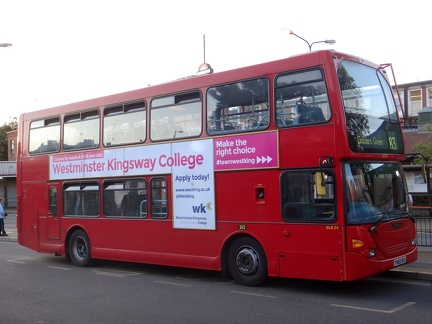 Bus Route: London Buses Route 183 | SGBuses com