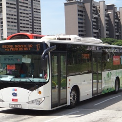BYD CK6120LGEV K9 Electric Bus