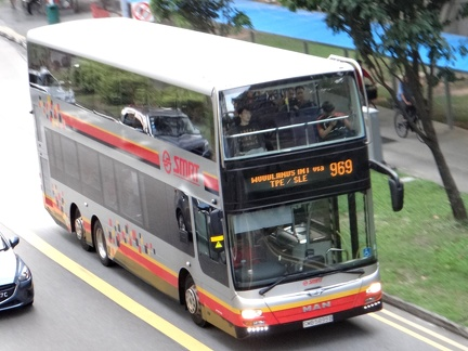 Bus Route: SMRT Buses Service 969 | SGBuses com