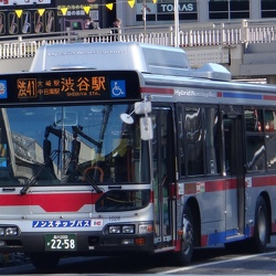 Hino BJG-HU8JLFP Blue Ribbon City Hybrid